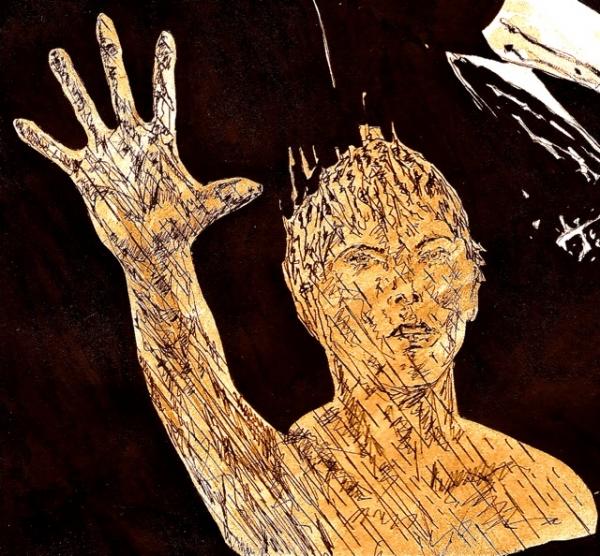 Anthony Perkins by Adzee
